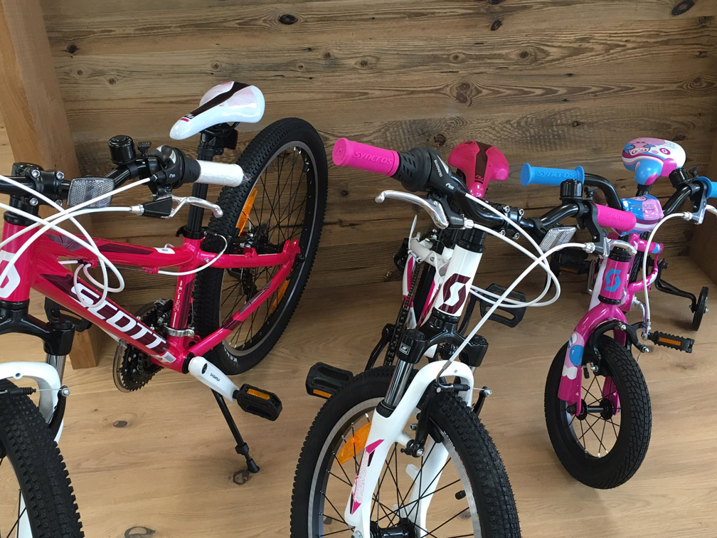 Scott Kinderräder Rosa Pink