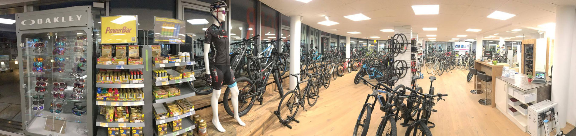 Pfannberger Cycling Fahrradgeschäft Panorama