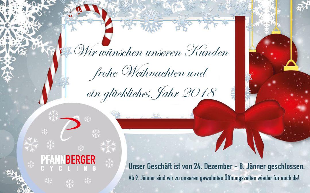 weihnachten und neujahrsw nsche 2018 pfannberger cycling. Black Bedroom Furniture Sets. Home Design Ideas
