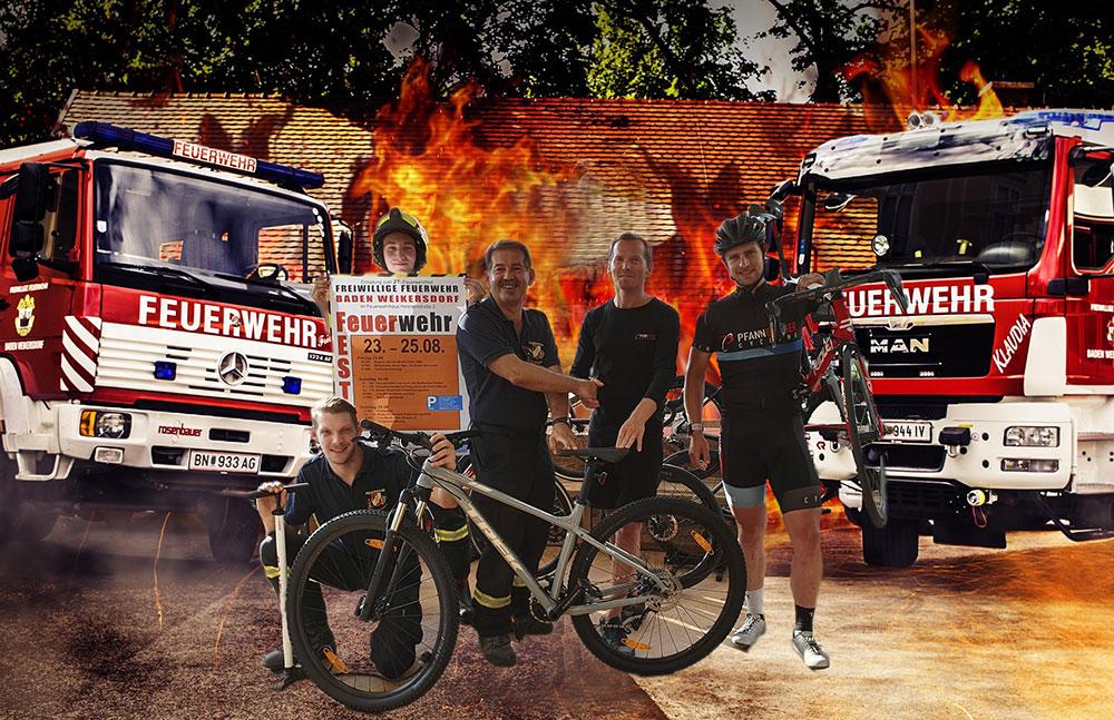 Pfannberger Cycling MTB gewinnen FF Baden Weikersdorf!